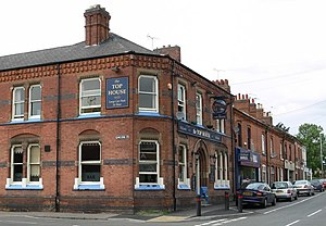 Thurmaston - The Top House pub on Melton Road