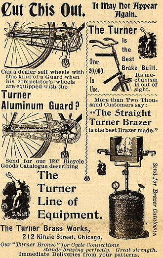 Aluminium - 1897 American advertisement featuring the aluminum spelling