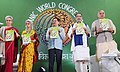 The Union Minister for Agriculture and Farmers Welfare, Shri Radha Mohan Singh releasing the publication at the inauguration of the 19th Organic World Congress 2017, at Greater Noida, Uttar Pradesh (1).jpg