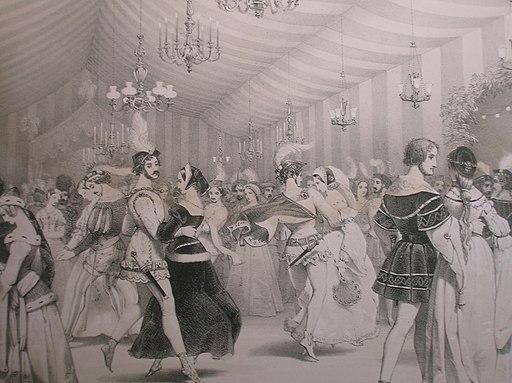 The ballroom at Eglinton Castle