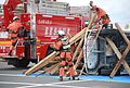 The disaster prevention training by Sahara fire department,Choshi-city,Japan.jpg