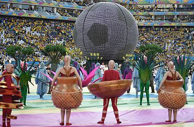The opening ceremony of the FIFA World Cup 2014 08.jpg