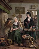 The pancake-cook, by Adriaan de Lelie.jpg