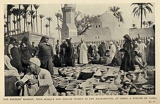 Fellah - Fellahin in Gizeh, Cairo (1911)