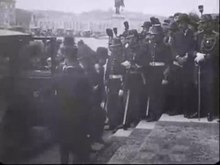 پرونده:The signing of the peace treaty of Versailles.webm