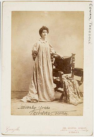 Theodora Cowan - Theodora Cowan c.1898