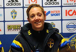 Therese Sjögran Swedish association football player