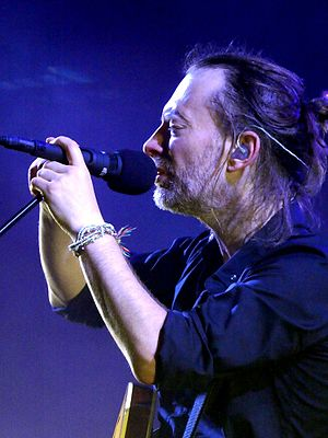 A Moon Shaped Pool - Radiohead frontman Thom Yorke's lyrics discuss love, forgiveness, and regret.