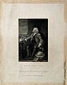 Thomas Coram. Line engraving by B. Holl after W. Hogarth. Wellcome V0001279.jpg