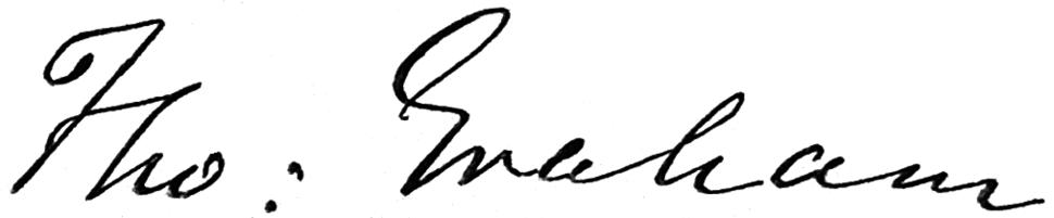 Thomas Graham (chemist) signature