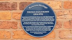 Thomas hazlehurst plaque