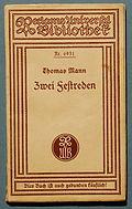 Thomas Mann Zwei Festreden 1928.jpg
