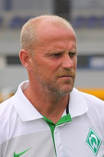 Thomas Schaaf German footballer/manager