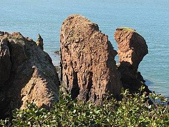 "Eatonville, Nova Scotia - The ""Three Sisters"" sea stacks"
