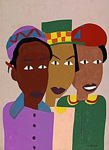 Three Friends, by William H. Johnson.jpg