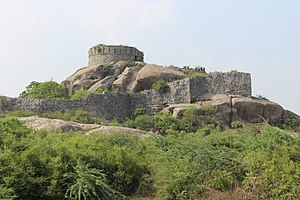 Gingee - Throne in Krishnagiri Fort