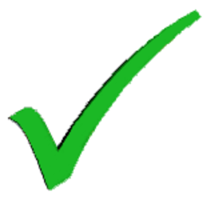 XML Schema Editor - Image: Tick green