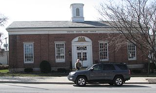 United States Post Office (Ticonderoga, New York) government building in Ticonderoga, New York