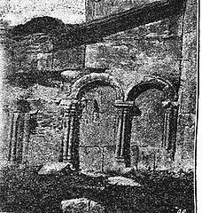 Tigva church. Details of the southern wall. Uvarova 1894.jpg