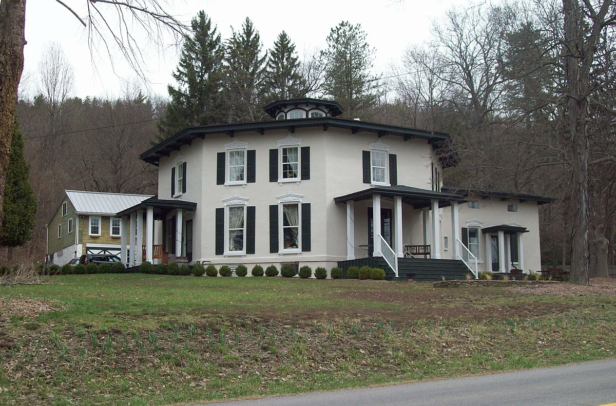 Timothy m younglove octagon house wikipedia for Octagon homes