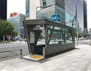 Nihombashi Station Metro station in Tokyo, Japan