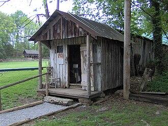 Museum of Appalachia - Image: Tom cassidy house tn 1