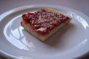 Cuisine of New Jersey - Tomato pie, commonly found in Trenton; also a popular Philadelphia dish.