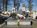 Tomb of the Unknown Soldier in Truskolasy.JPG