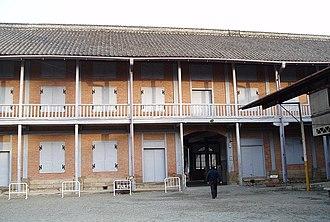 Tomioka Silk Mill - Image: Tomioka Silk Mill East Cocoon Warehouse 04