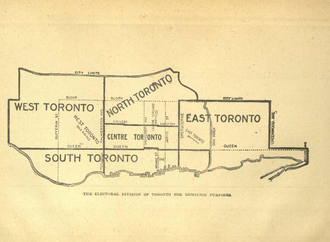 Toronto East - Toronto East riding, in 1904