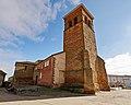 Torre de la Iglesia de San Pedro en Fuentes de Ropel.jpg