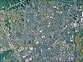 Tosu city center area Aerial photograph.2010.jpg