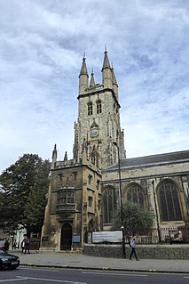 St Sepulchre-without-Newgate Church in London
