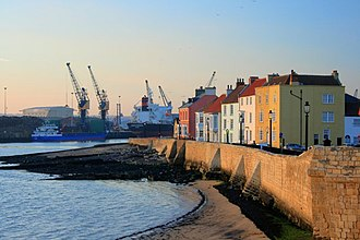 Hartlepool - Image: Town Wall Hartlepool(Mick Garratt)Nov 2007