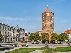 Town hall tower in Znin (2).jpg
