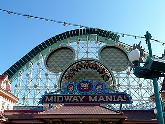 Toy Story Midway Mania! - Toy Story Midway Mania at Disney California Adventure