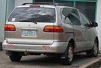 Pre Facelift Toyota Sienna