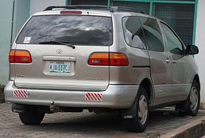 Toyota Sienna - Pre-facelift Toyota Sienna