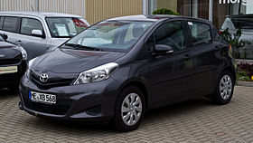 toyota yaris wikip dia. Black Bedroom Furniture Sets. Home Design Ideas