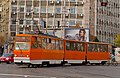 Tram in Sofia near Macedonia place 2012 PD 054.jpg