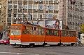 Tram in Sofia near Macedonia place 2012 PD 054.jpg