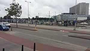 Leyenburg RandstadRail station - Image: Tramhalte Leyenburg 1