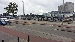Leyenburg RandstadRail station public transportation hub in The Hague