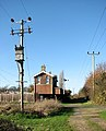 Transformer by Pulham Market Station - geograph.org.uk - 1595454.jpg