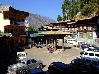 Trashigang - Image: Trashigang upper market Bhutan 2008 01 02