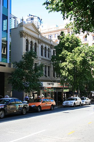 Hunters Buildings - Treasury Chambers (George Street), 2009