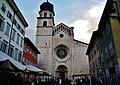 Trento Cattedrale San Vigilio Vescovo Fassade 2.jpg
