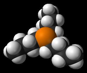 Tributylphosphine - Image: Tributylphosphine 3D vd W