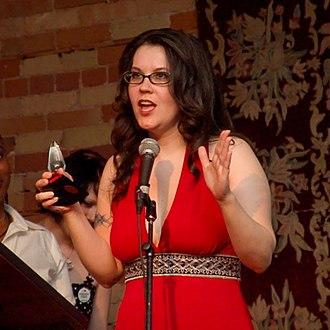 Tristan Taormino - Taormino holding a Feminist Porn Award for her work Chemistry (2007)