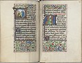 Trivulzio book of hours - KW SMC 1 - folios 134v (left) and 135r (right).jpg